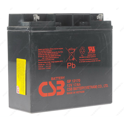Аккумуляторные батареи CSB Battery Co., Ltd и General Security